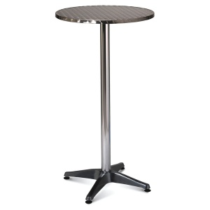 Aluminium Indoor / Outdoor Round Poseur Table
