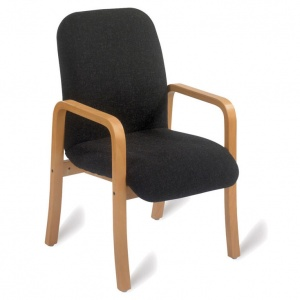 Advanced 409 Wooden Lounge Armchair