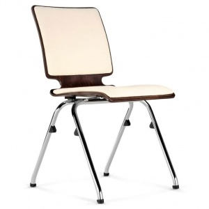 AXO Wood Conference Chair + Seat & Back Pad