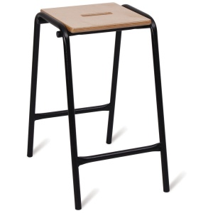 Advanced Wooden Top School Stool