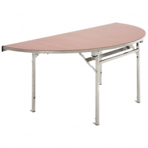 Easylift Semi-Circular Lightweight Folding Table