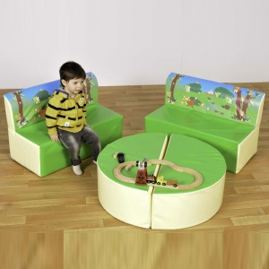 Children's Fun Soft Seating Set - Woodland