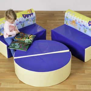 Children's Fun Soft Seating Set - Under the Sea