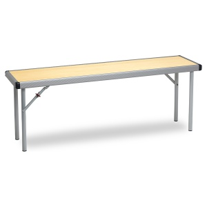 Fast Fold Rectangular Folding Bench