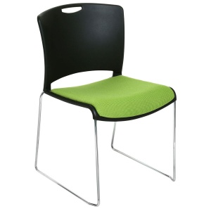 Jasper High-Density Stacking Chair + Seat Pad