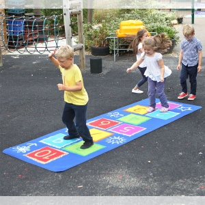 Hopscotch Outdoor Play™ Mat 3 x 1m