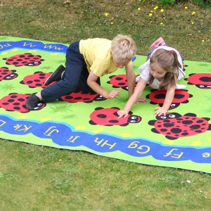 Chloe Caterpillar Numeracy & Literacy Outdoor Play™ Mat