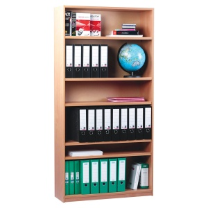 Open Bookcase with 5 Shelves (1800H)