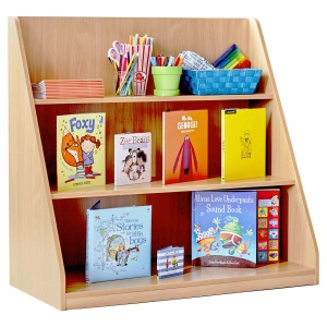 Single Sided Library Unit with 3 Shelves