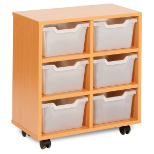 MEQ8006 6 Cubby Trays