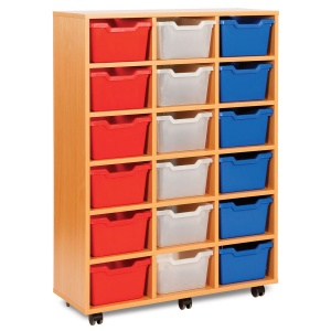 MEQ8018 18 Cubby Trays