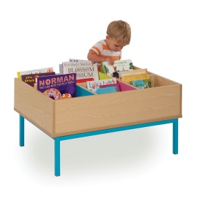 MEQ9014 Six-Bay Kinderbox With Legs
