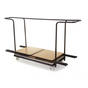 40 Folding Exam Desk Trolley
