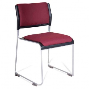 Public Stacking Conference Chair + Seat & Back Pad