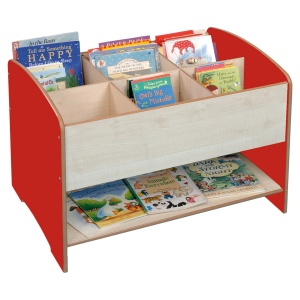 Six Compartment Kinderbox + Shelf