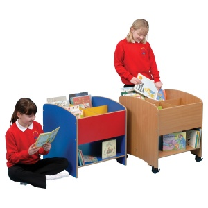 Four Compartment Kinderbox + Shelf