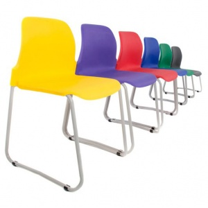 Skidbase Masterstack School Chair