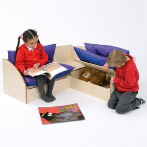 Children's Reading Corner + Under Seat Store
