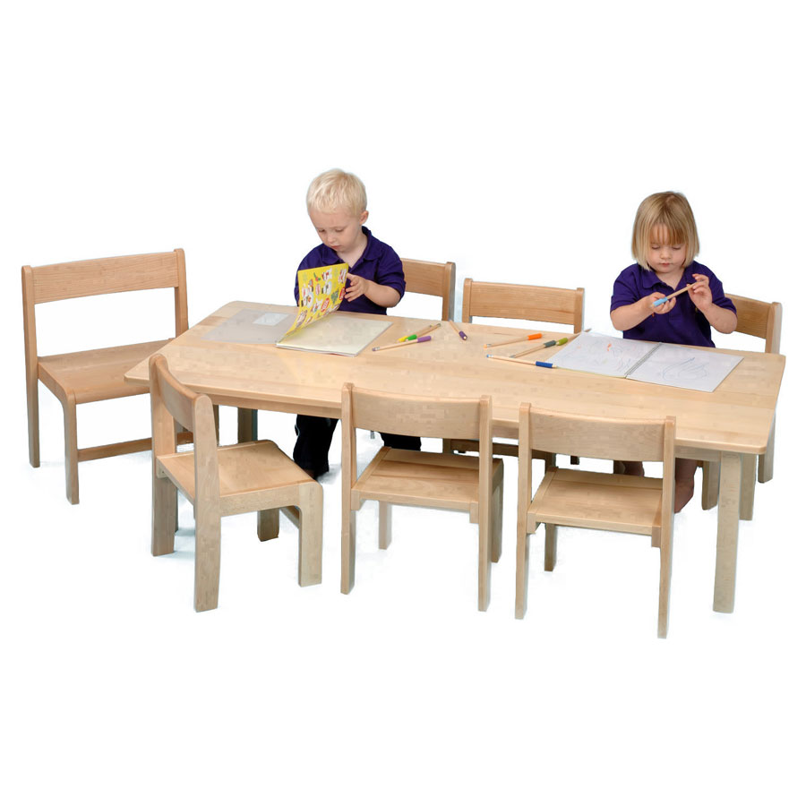Children S Rectangular Wooden Table 1500 X 690mm