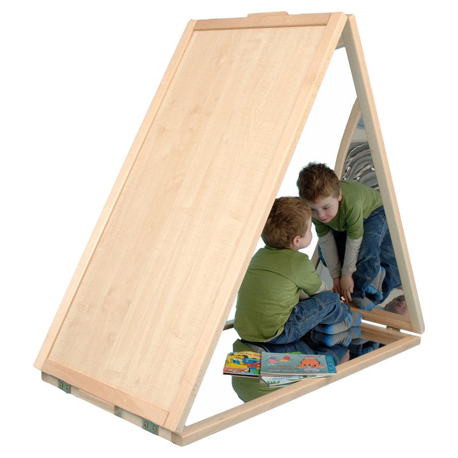 Children S Triangular Floor Mirror