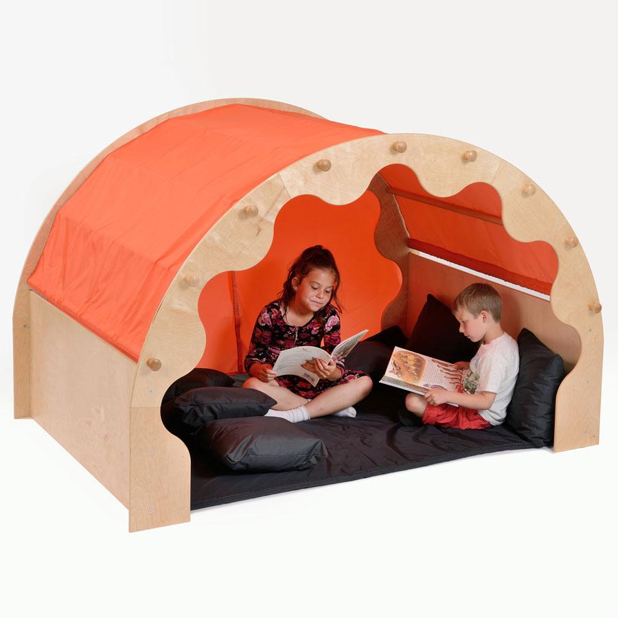 Children S Nursery Play Pod Canopy Curtains Mat Amp Cushions