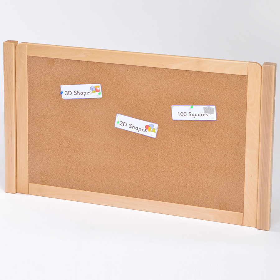 room scene cork board room divider