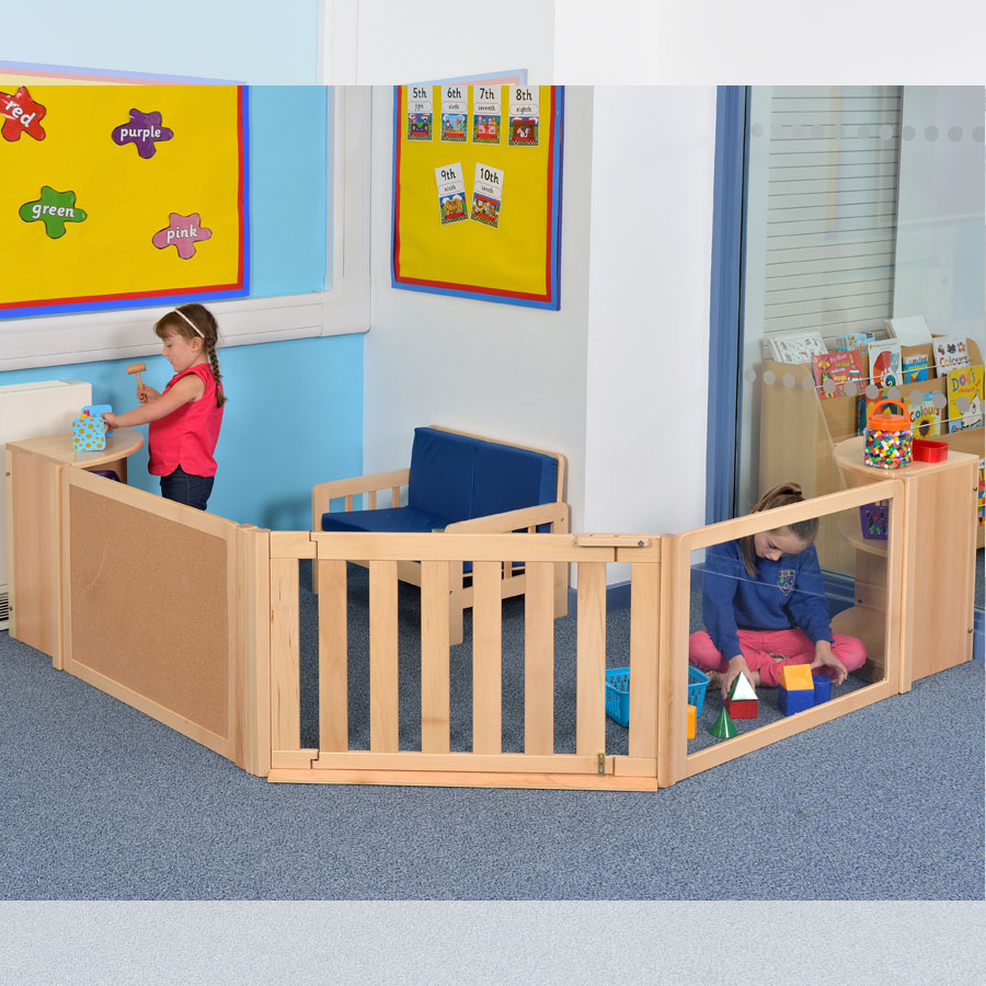 Room Scene 6 Childrens Panelled Play Zone