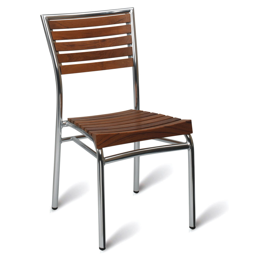 Monaco Teak Outdoor Cafe Chair