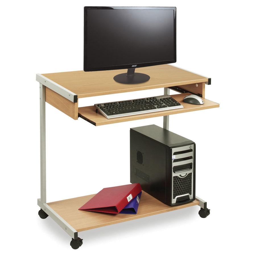 wide mobile computer workstation