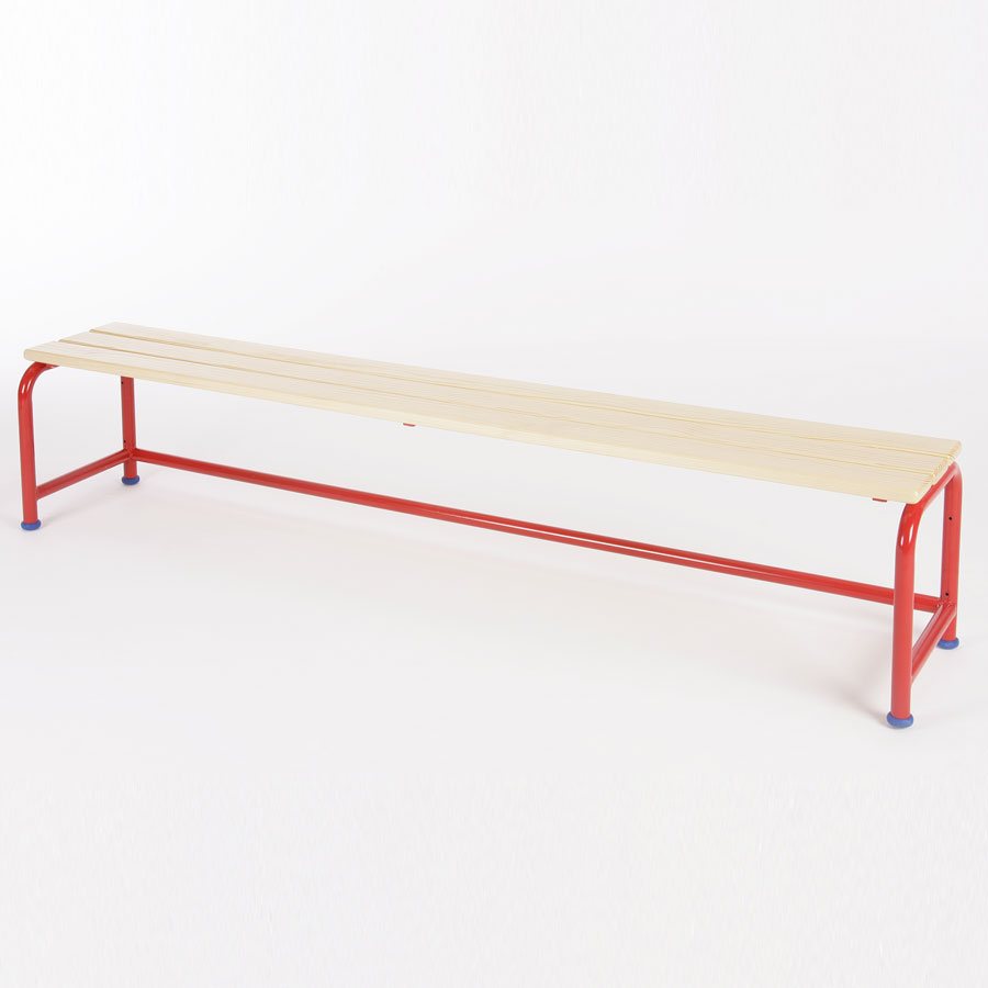School Changing Room Single Bench