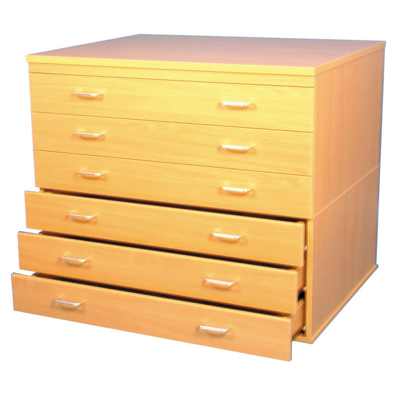 a1 paper storage 6 drawers