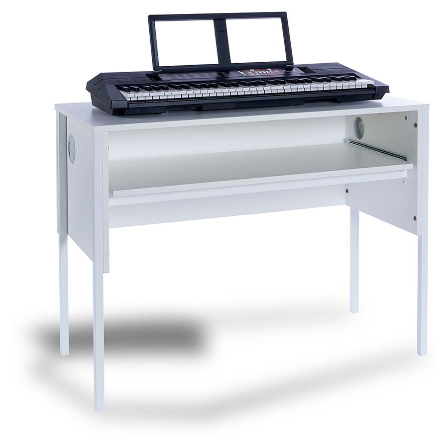 Piano Keyboard Workstation Desk : ef6003 music keyboard desk ~ Russianpoet.info Haus und Dekorationen