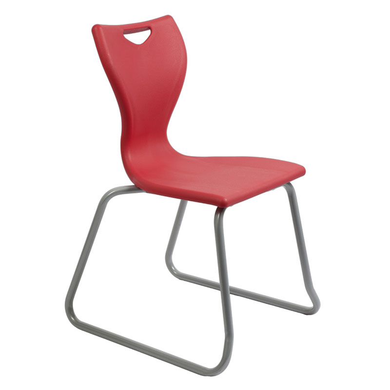 Remploy en10 skid base classroom chair for School furniture