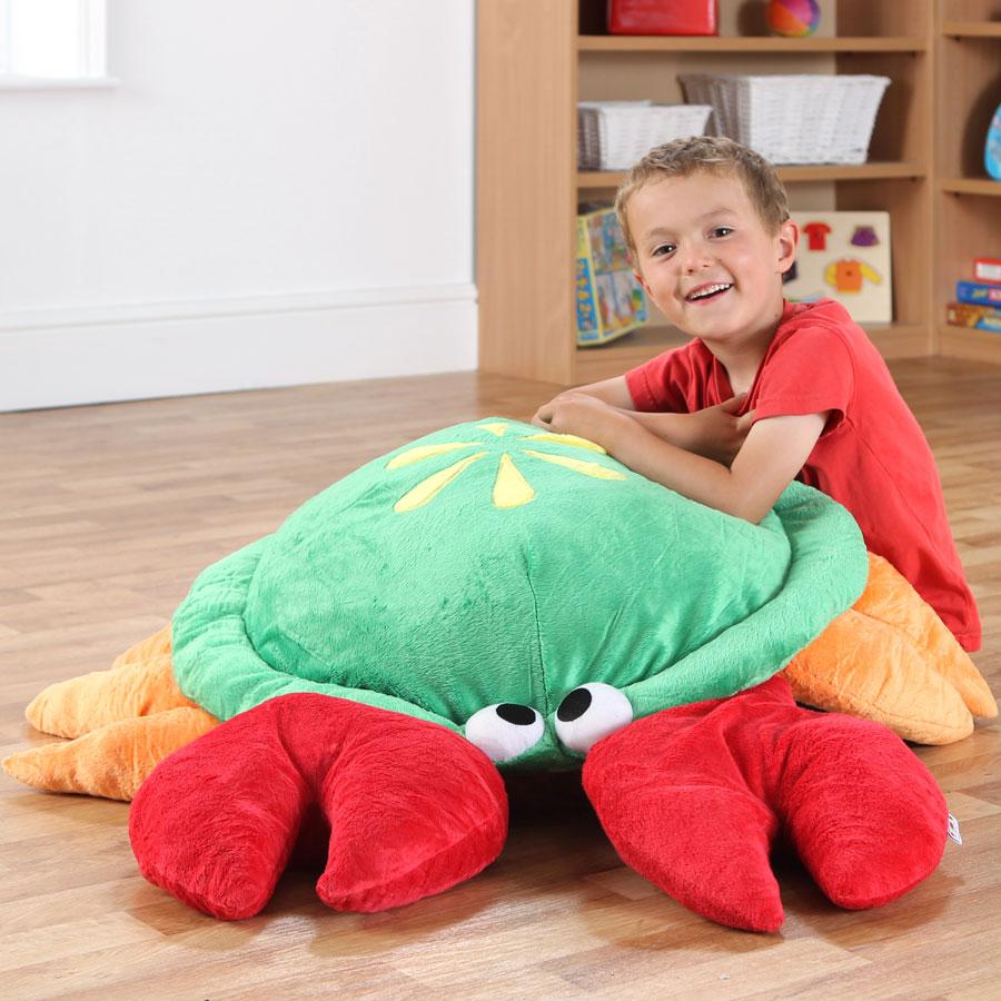 Under The Sea Norman Crab Giant Floor Cushion