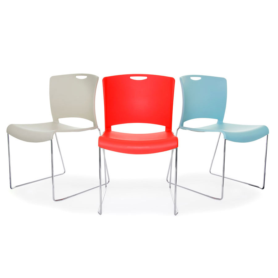 Jasper High Density Stacking Chair