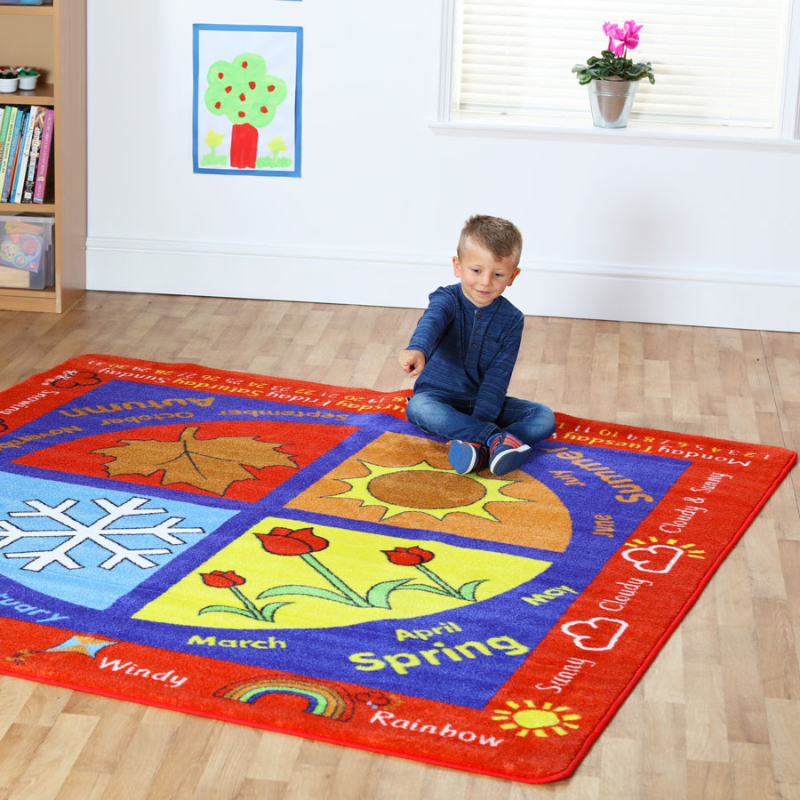 Educational Rugs Cheap: Weather Carpet