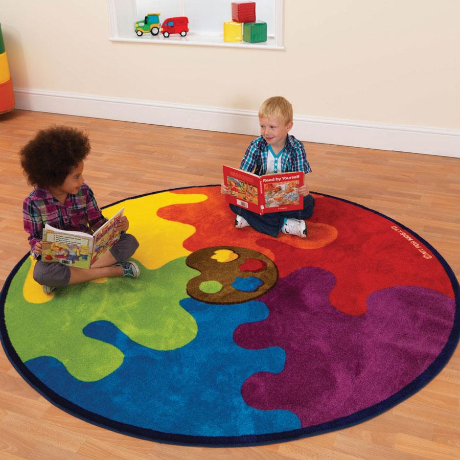 Wholesale Classroom Rugs: Decorative™ Colour Palette Carpet