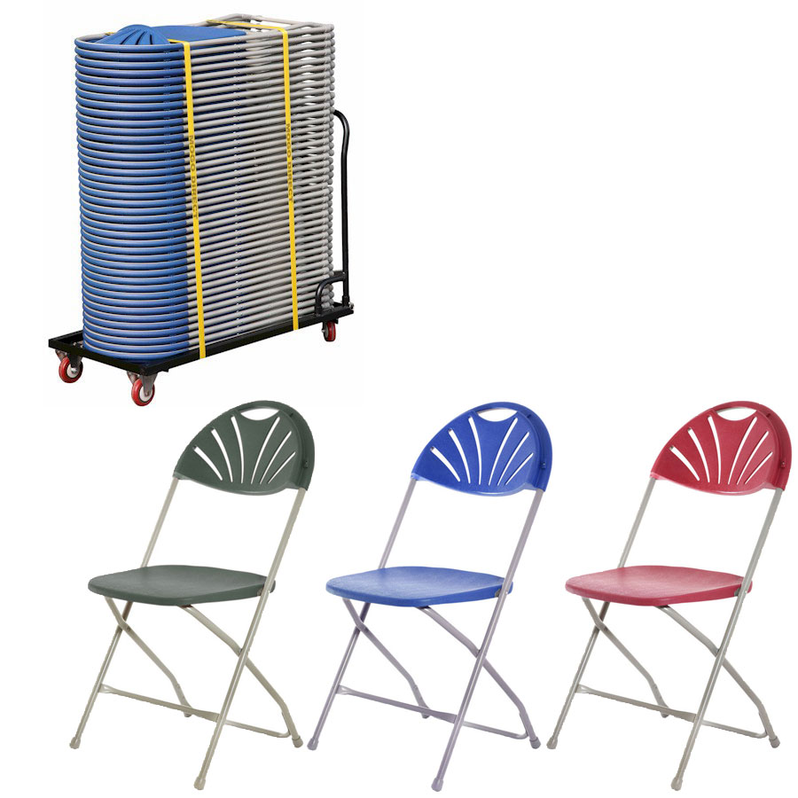 Classic Plus Folding Chair + Trolley Bundle