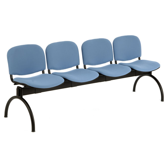 PS500 Beam Seating - 4 Seater Arch Leg