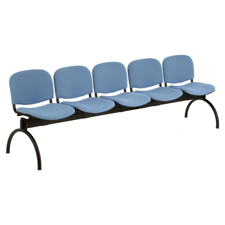 PS500 Beam Seating - 5 Seater Arch Leg