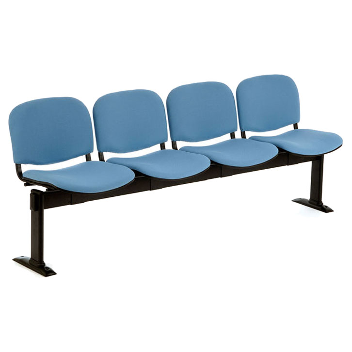 PS500 Beam Seating - 4 Seater Fixed-Leg Leg