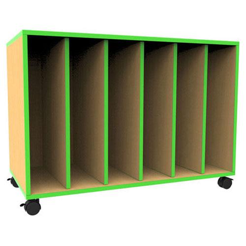 Attirant U0027u0027The Edgeu0027u0027 Mobile Big Book Storage Unit