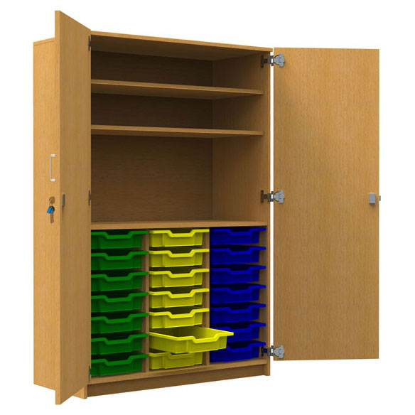 Tall 21 Shallow Tray Store 2 Shelves