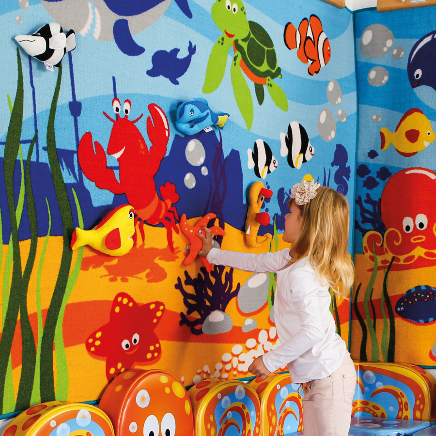 Under The Sea Interactive Children S Wall Display
