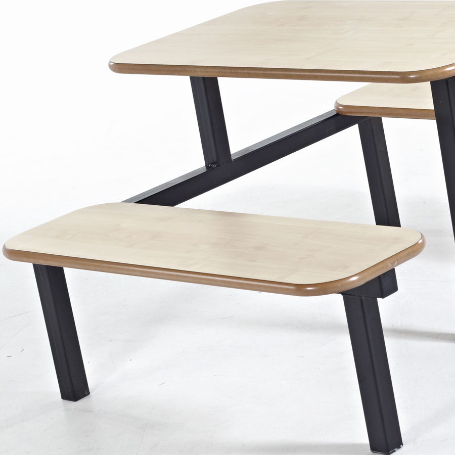 Bench School Canteen Fast Food Furniture