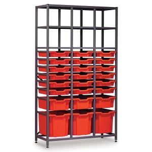 Tall 3 Bay Science Storage - Multi-Tray (B)