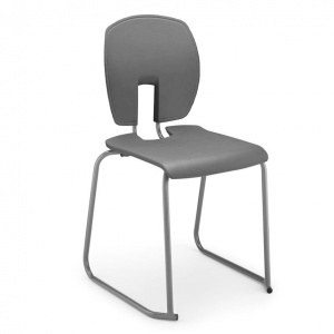 SE ''Curve'' School Classroom Skid-Base Chair