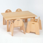 Infant Wooden Table & Chairs (200SH) Package