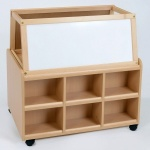 Double Sided Nursery Resource Unit + Easel