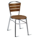 Nice No Wood! Outdoor Cafe Chair